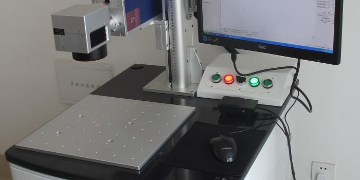 Flatbed fiber laser marker