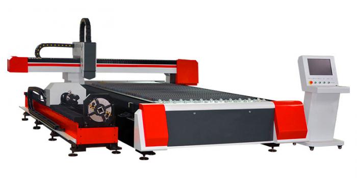 Tube sheet laser cutting machine (2)